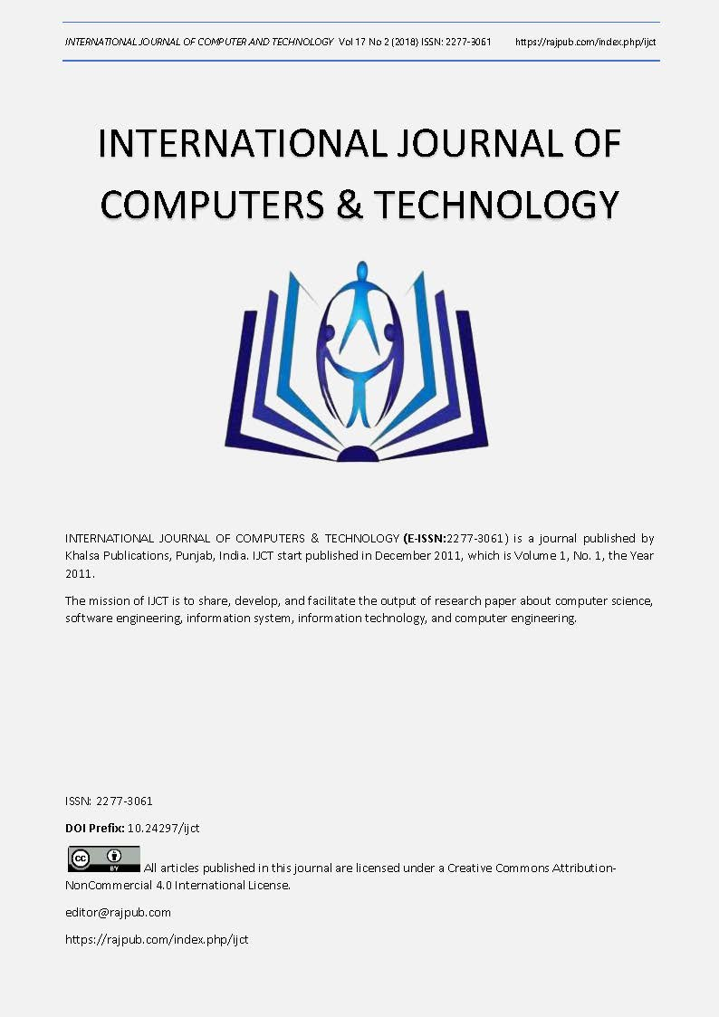 View Vol. 17 No. 2 (2018): Advances in Computing